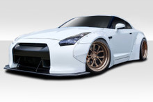 2010 Nissan GTR  Kit-2009-2016 Nissan GT-R R35 Duraflex LBW Wide Body Kit - 8 Piece - Includes LBW Front Fender Flares (113508) LBW Rear Fender Flares