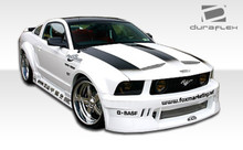 2009 Ford Mustang  Kit-2005-2009 Ford Mustang Duraflex Circuit Wide Body Kit - 8 Piece - Includes Circuit Wide Body Front Bumper Cover (100652) Circui