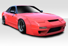 1989 Nissan 240SX  Kit-1989-1994 Nissan 240sx HB Duraflex RBS V3 Widebody Kit - 12 Piece - Includes RBS V3 Front Bumper (113872) RBS V3 Side Skirts (1