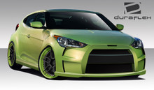 2013 Hyundai Veloster  Kit-2012-2016 Hyundai Veloster Duraflex VG-R Body Kit - 4 Piece - Includes VG-R Front Bumper Cover (108806) VG-R Side Skirts Ro