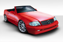 2000 Mercedes SL - Mercedes  Kit-1990-2002 Mercedes SL Class R129 Duraflex BR-S Body Kit - 6 Piece - Includes BR-S Front Bumper (112839) BR-S Side Ski