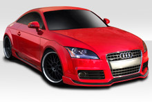 2013 Audi TT  Kit-2008-2015 Audi TT 8J Duraflex TKR Kit - 4 Piece - Includes TKR Front Lip (113522) TKR Side Skirts (113524) TKR Rear Diffuser (113525