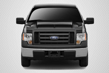 2012 Ford F150  Hood-2009-2014 Ford F-150 Carbon Creations GT500 Hood - 1 Piece