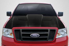 2006 Ford F150  Hood-2004-2008 Ford F-150 / 2006-2008 Lincoln Mark LT Carbon Creations DriTech Xtreme Hood - 1 Piece