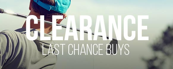 GolfBox clearance items are last chance buys, that won't be around for long!