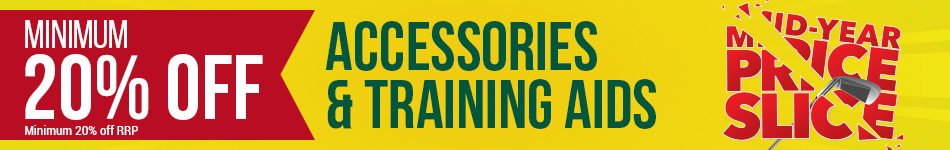 Minimum 20% off Accessories and Training Aids