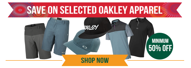 Save a Minimum 40% off Clearance Oakley Apparel