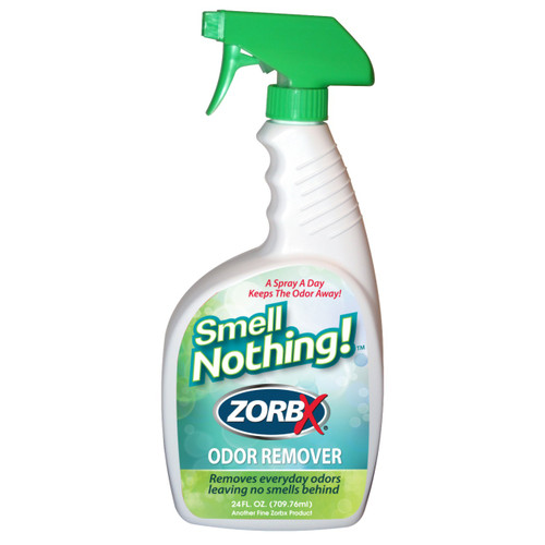 Eliminate odors instantly with ZORBX 24 oz. Smell Nothing Odor Remover