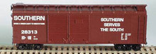 BOWSER HO 40 Foot Box Cars (Double Door)  KIT Southern  3-1209  OL 1