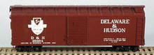 BOWSER HO 40 Foot Box Cars (Single Door) KIT  D & H  3-1110  OL 1
