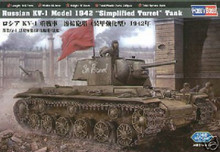 Hobby Boss 84812 Russian KV1 Model 1942 Tank 1:48   OL 1