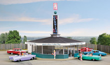 HO Walthers Cornerstone Donnie's Drive-In KIT  933-3474 OL 1