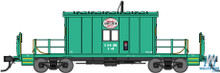N Bluford Shops Steel Transfer Caboose Indiana Harbor Belt 24230 OL 1