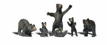 HO woodland scenics Black Bears 1885 OL 1