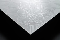 Matrix  2' x 2' - 3D Designer White - Carton of 18 Tiles - 72 SF - $7.62 EA