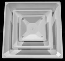Diffuser 2 Way Corner 2' x 2' - White, Black