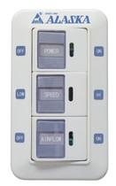 EcoFan Wall Control for 2 - Speed EcoFan
