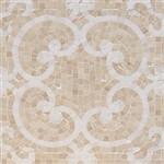 Soho Micro Mosaic Aristo Thassos & Crema Marfil