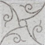 Soho Micro Mosaic Twine Calacatta & Lady Gray Polished