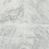Daltile Marble 12 x 12 Carrara White Honed M70112121U