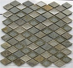 Soho Art Glass Diamond Rustic Slate