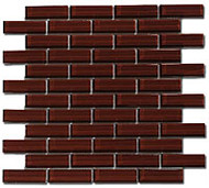 GT Glass Crystile 1 x 3 Brick Formation Morning Coffee C04-2