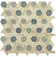 GT Glass Tranquil Hexagon Mansion Drive TS-954