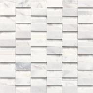 Daltile Stone A' La Mod 2 x RANDOM Contempo White High/Low Polished & Honed M3132RANDMS1P