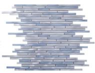 Merola Metallic Sleek Sky Mixed Mosaic