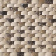 MSI Emperador Blend Arched Brick Mosaic SMOT-ARCH-EMPB-1X2P