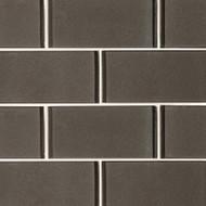 MSI Metallic Gray  3 x 6 Subway Mosaic SMOT-GL-T-MG36