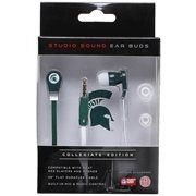 Michigan State Studio Team Color Ear Buds