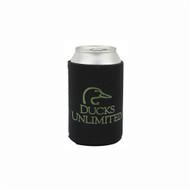 Ducks Unlimited Black Can Insulator