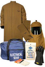 c85e3145a802 National Safety Apparel KIT4LC50XL10 XL ArcGuard Nomex Kevlar HRC Level 4 Arc  Flash Kit