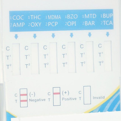 The 10 Panel All-In-One CLIA Waived Drug Testing Cup can be used for the qualitative detection of most of the drug metabolites found in human urine at particular cutoff levels. It supplies faster results than our competitor's cups. Our CLIA Waived test cup, will allow you to obtain quicker RESULTS, with easier readable strips.