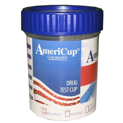 The 10 Panel w/Alcohol Drug Testing Cup can be used for the qualitative detection of most of the drug metabolites found in human urine at particular cutoff levels. It supplies faster results than our competitor's cups.