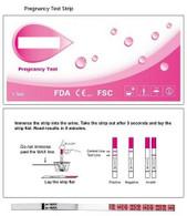 hCG Pregnancy Test Strip (Case of 25)