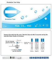 LH Ovulation Test Strip (Case of 25)