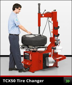 Table Top TCX50 Tire Changer