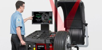 SmartWeight Touch® Wheel Balancer