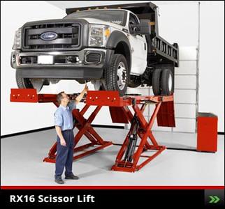 RX16 Scissor Lift Rack