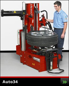Center Clamp Auto34 Tire Changer