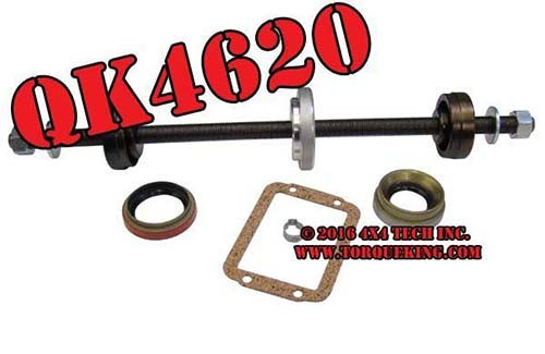 Inner Front Axle Shaft Installer with Seal Kit for 1988-2001 Dodge Ram Front Axles