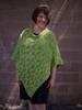 Add a touch of spring to your step — all year round! This poncho is made of two panels which have gorgeous texturing and patterns, and will be sure to wow the crowds.