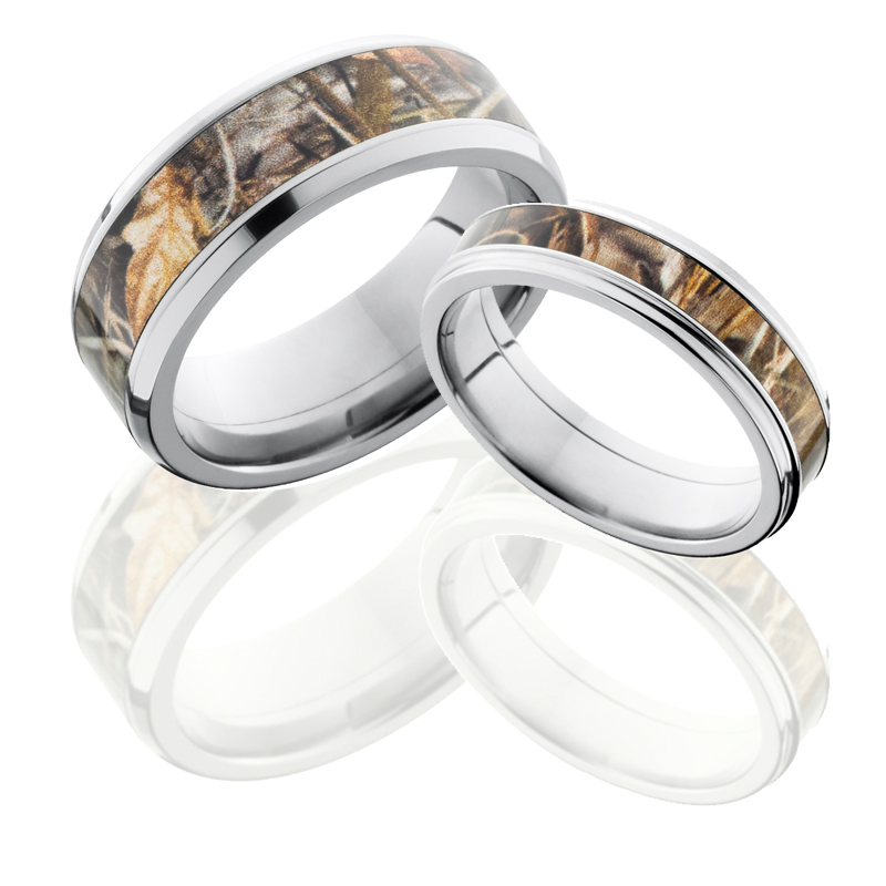 his and hers camo wedding rings his and hers camo wedding ring sets 4808