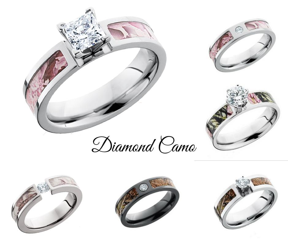 Diamond Camo Rings