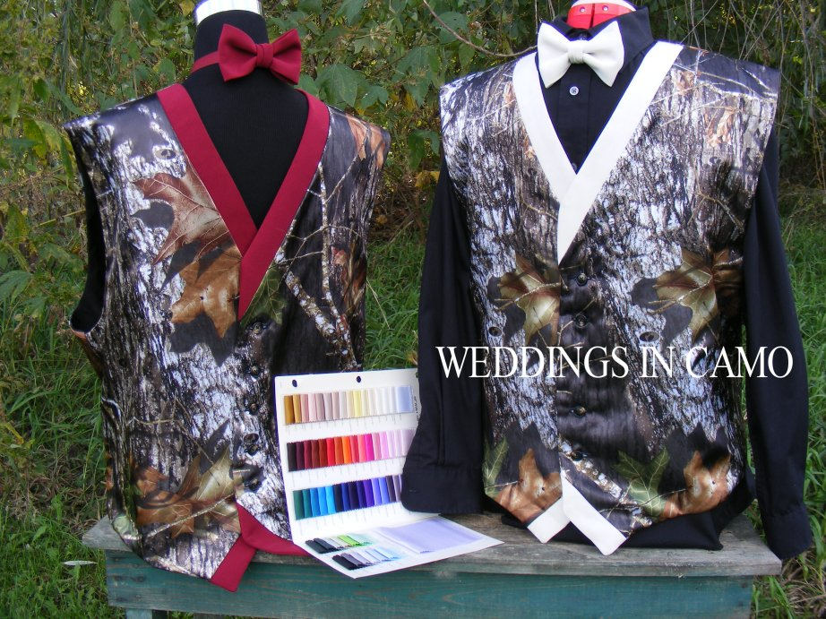 two tone vests with color card