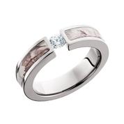 Snow Camo Diamond Ring Tension Set