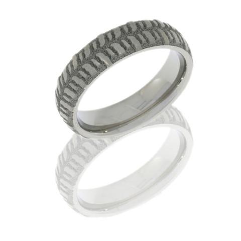 5mm domed sand-polished bogger ring