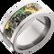 10mm Titanium Flat Band with Mossy Oak® New Break-Up Inlay